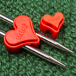Addi ToGo - szív alakú kötőtű záró