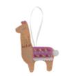 DIY Timits filc láma karácsonyfadísz készítő készlet gyerekeknek