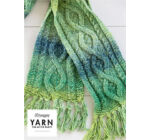 Yarn - The After Party No. 12 - Scheepjes Mossy Cabled Scarf kötésminta