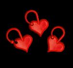 Addi Love szív alakú zárható szemjelölők 5 db