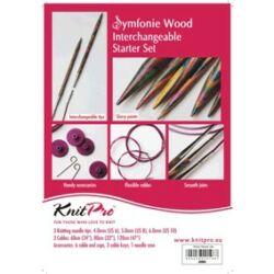 Knit Pro Starter set cserélhető tűvéges kötőtűszett