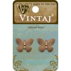 Vintaj medál - Butterfly Charm