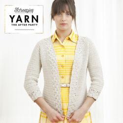 Yarn - The After Party No. 1 - Linen and Lace kardigán horgolásminta