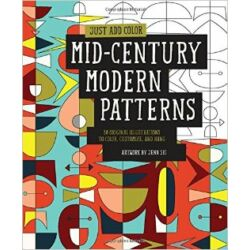 Just add color Mid-Century Modern Patterns