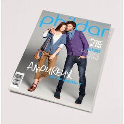 Phildar magazin nr. 104: Kötött női és férfi modellek