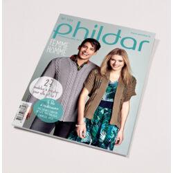 Phildar magazin nr. 121: Kötött női és férfi modellek
