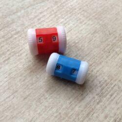 Sorszámláló - 2 méret/csomag