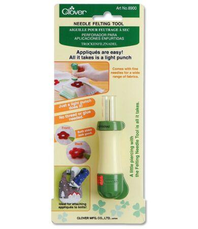 Clover Needle Felting Tool (8900) - Tűnemezelő eszköz 5 nemezelőtűvel