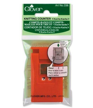 Clover Knitting Counter Kacha-Kacha (336) Sorszámláló