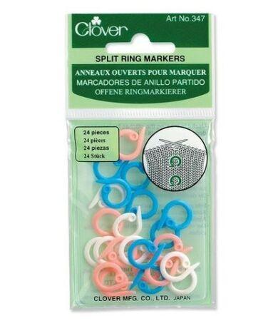 Clover Split Ring Markers (347) - nyitott szemjelölők