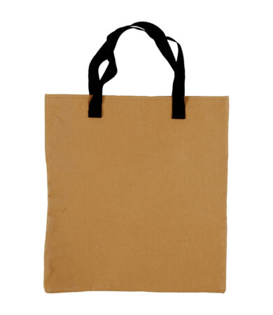 Műbőr stílusú leather paper Shopping Bag