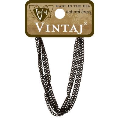 Vintaj Delicate Curb Chain Necklace - nyaklánc alap