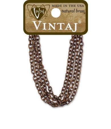 Vintaj Classic Cable Chain Necklace - nyaklánc alap