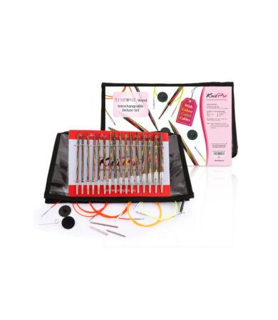 Knit Pro Deluxe cserélhető tűvéges kötőtűszett