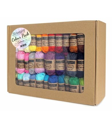 Scheepjes Catona Colour Pack