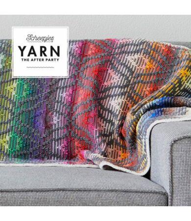 Yarn - The After Party No. 47 -  47 Diamond Sofa Runner takaró horgolásminta