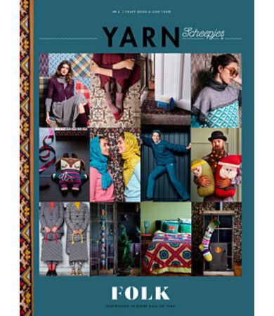 scheepjes yarn magazin 6. szám Folk