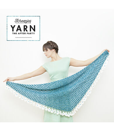 Yarn - The After Party No. 2 - Scheepjes Daisy Shawl horgolásminta