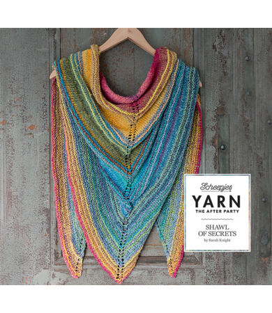 Yarn - The After Party No. 6 - The Shawl of Secrets kötésminta