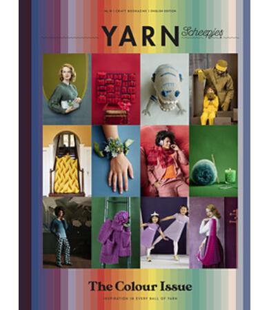 scheepjes yarn magazin 10. szám Colours