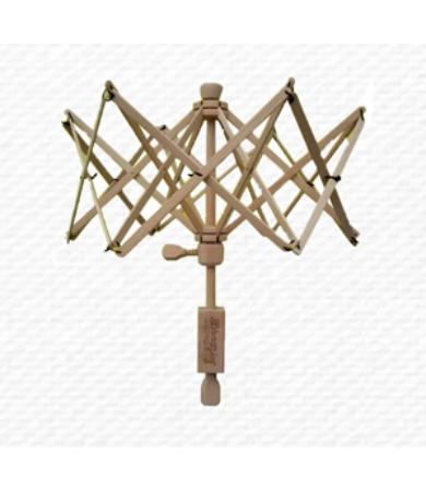 Fonalgombolyító állvány - motolla (fa) - XL