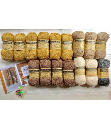 Scheepjes Honey Bee Blanket Kit fonalcsomag mintával