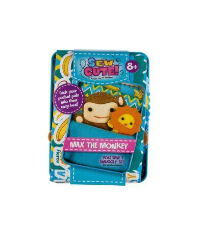 Kreatív állatkák dobozban - Max, a majom