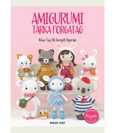 Amigurumi tarka forgatag horgolás könyv