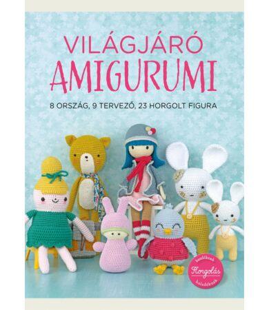 Világjáró amigurumi horgolás könyv