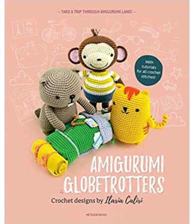 utazóállatok amigurumi könyv