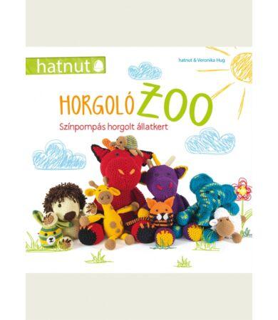 horgoló zoo horgolt állatok könyv
