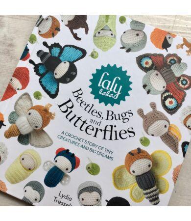 lalylala beetles bugs butterlfies könyv