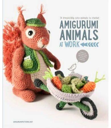 Amigurumi Parent and Baby Animals horgolás könyv