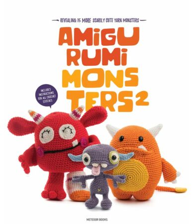 Amigurumi Monsters 2 horgolás könyv