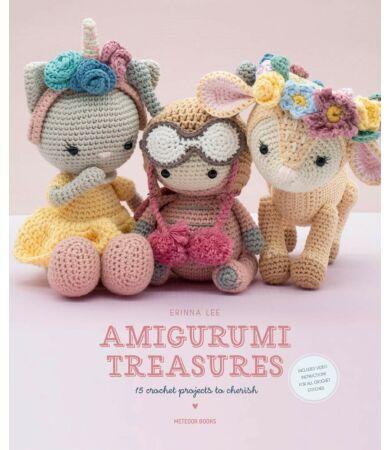 Amigurumi Treasures horgolás könyv