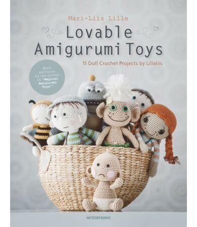 Lovable Amigurumi Toys horgolás könyv