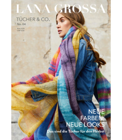 Lana Grossa Tücher & Co. No. 4 - Magazine (DE)