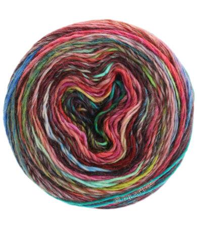 Lana Grossa Colorissimo színátmentes gyapjú fonal