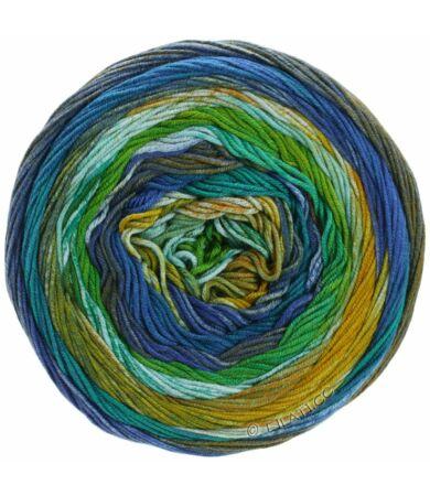 Lana Grossa Gomitolo Denim Inca színes pamut fonal