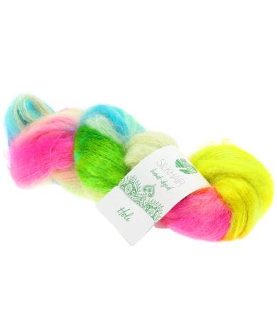 Lana Grossa Silkhair Hand-dyed mohair-selyem fonal