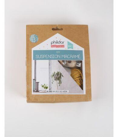 Phildar DIY makramé virágtartó készlet