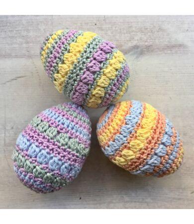 1001fonal horgolt húsvéti tojás készlet