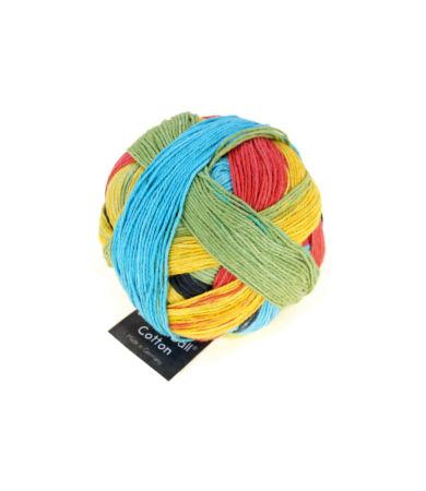 Schoppel Wolle Zauberball Cotton színátmenetes biopamut fonal