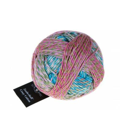 Schoppel Wolle Zauberball Crazy Cotton színátmenetes biopamut fonal