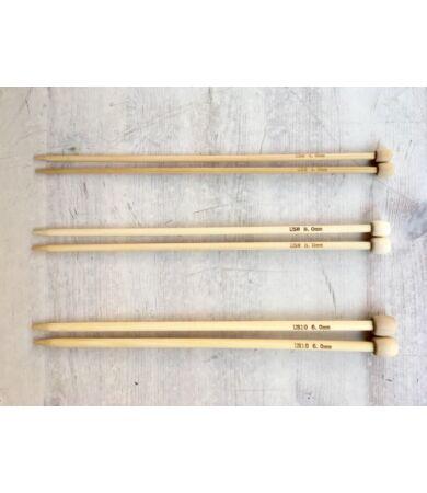 Bambusz fa kötőtű