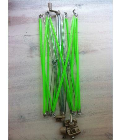 Fonalgombolyító állvány - motolla (yarn swift)