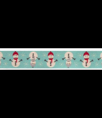 Pamut karácsonyi mintás szalag