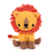 horgolt oroszlán