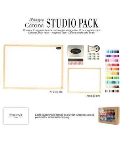 Scheepjes Catona Studio Pack tervező doboz