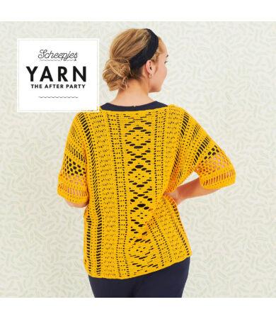 Yarn - The After Party No. 67 Boho Chic Cardigan horgolásminta